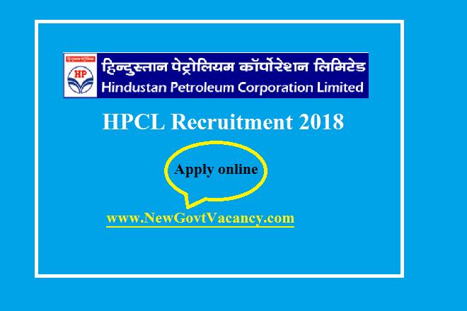 hpcl recruitment 2018-2019