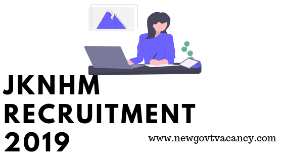 JKNHM Recruitment 2019