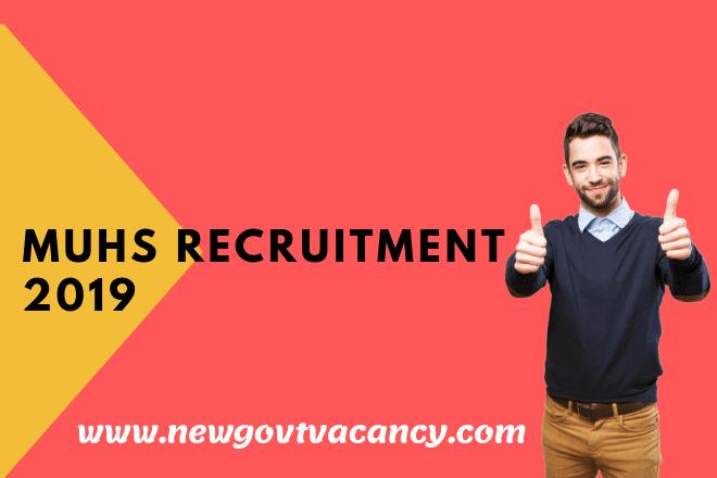 MUSH Recruitment 2019