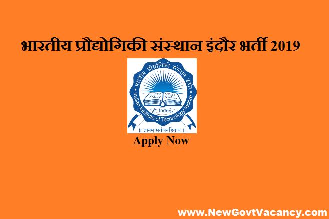 IIT Indore Recruitment 2019