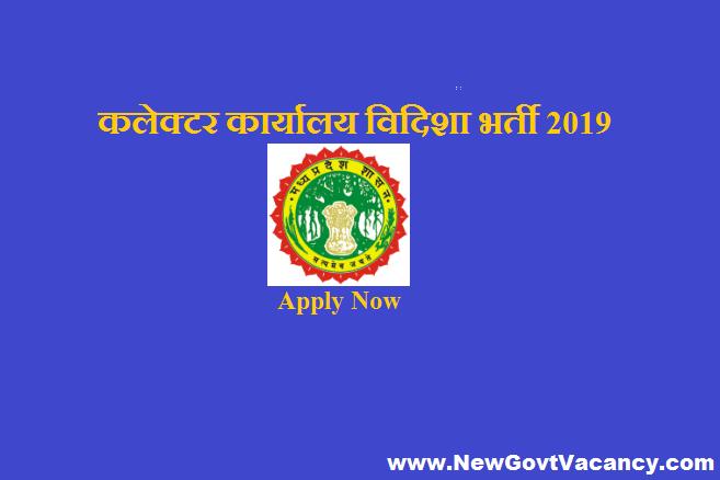 Collector Office Vidisha Recruitment 2019