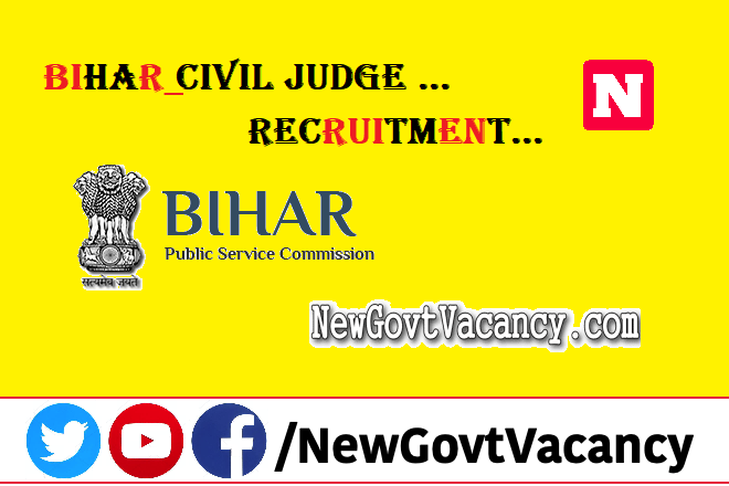 Bihar Civil Judge Recruitment