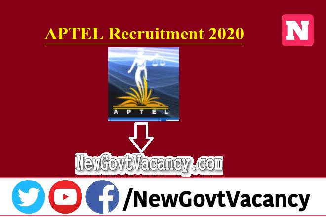 APTEL Recruitment 2020