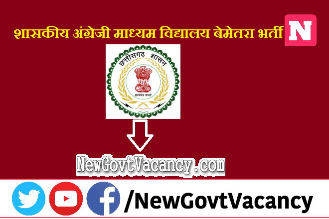 CG DEO Bemetara Recruitment 2020